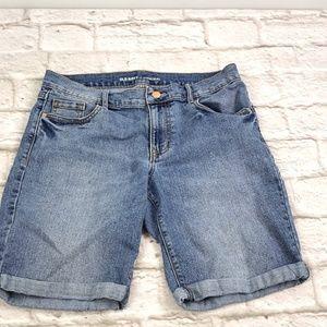 Old Navy women's Original Bermuda Jeans shorts